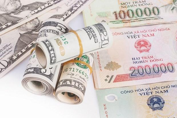 5月17日上午越盾对美元汇率中间价上调16越盾 hinh anh 1