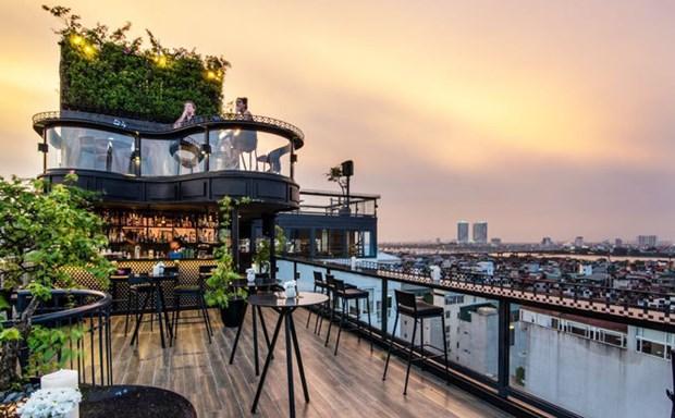 河内4家酒店跻身Tripadvisor2021最美酒店楼顶前25名 hinh anh 1