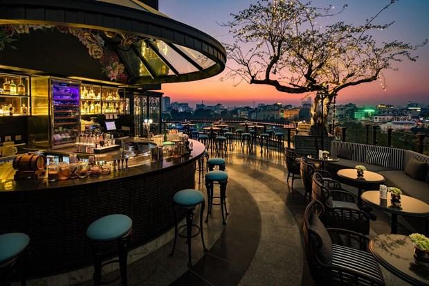 河内4家酒店跻身Tripadvisor2021最美酒店楼顶前25名 hinh anh 2