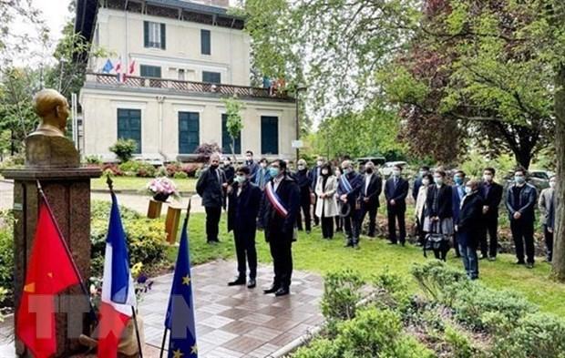 胡志明主席诞辰131周年纪念活动在法国举行 hinh anh 1