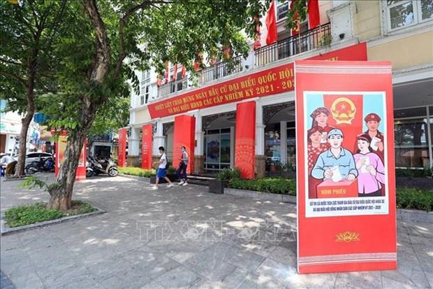 国会主席、国家选举委员会主席王廷惠:明智地选出人民的代表 hinh anh 1
