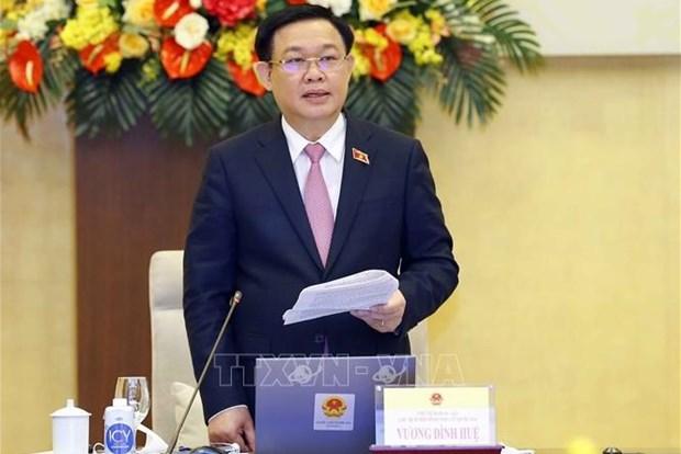 国会主席、国家选举委员会主席王廷惠:明智地选出人民的代表 hinh anh 2