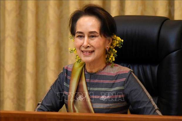 缅甸选举委员会宣布解散昂山素季全国民主联盟党 hinh anh 1