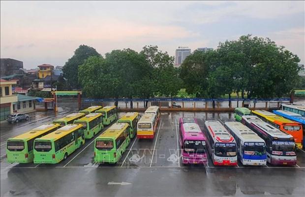 5月21日0时起北江省暂停客运运营活动 hinh anh 1