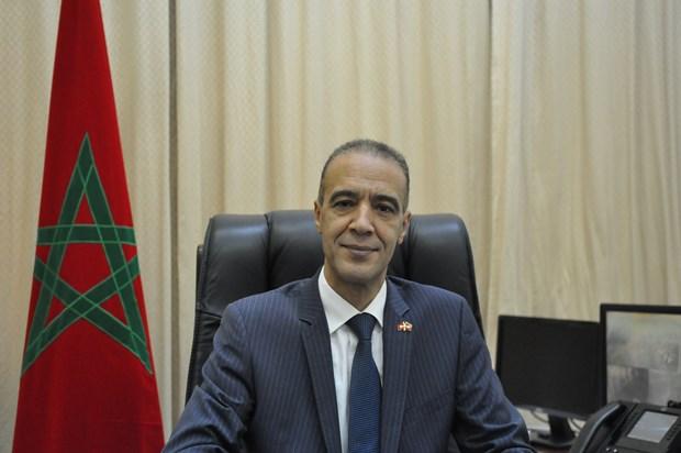 国会和各级人民议会代表选举:摩洛哥大使高度赞赏越南为实现性别平等所做出的努力以及越南民族大团结政策 hinh anh 2