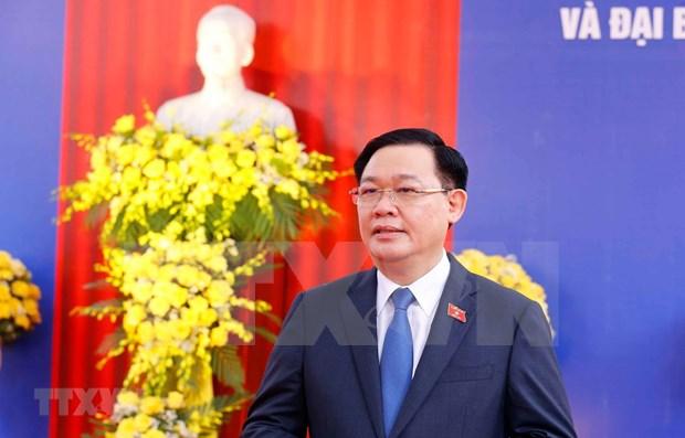 越南国会主席王廷惠:国会和各级人民议会换届选举彰显人民的力量 hinh anh 1