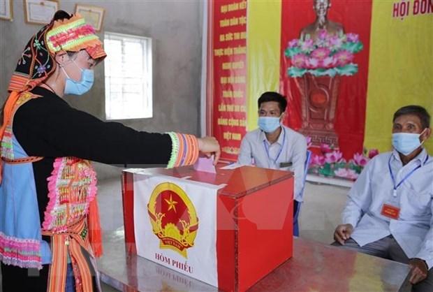 国会和人民议会换届选举:国际舆论高度评价越南国会换届选举组织工作 hinh anh 1