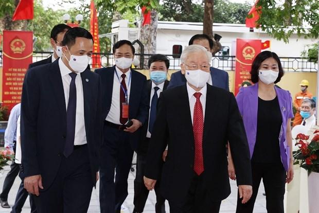 国会与人民议会换届选举:日本媒体纷纷报道越南重大政治事件 hinh anh 1