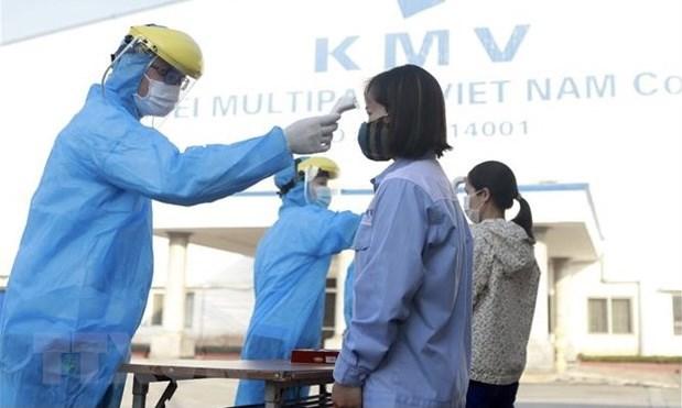 越南政府总理:应当确保工业区新冠疫情防控的安全 hinh anh 2
