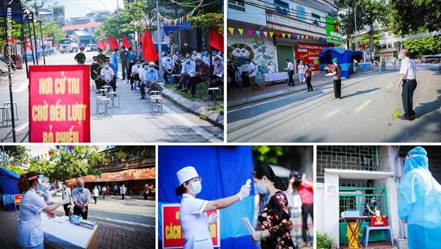 越南换届选举取得成功:全民大团结是力量之源 hinh anh 2