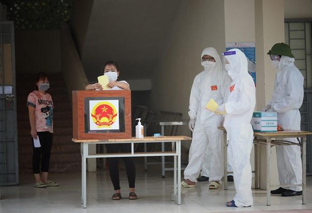 越南换届选举取得成功:全民大团结是力量之源 hinh anh 1