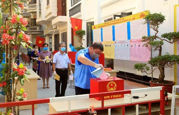 越南换届选举取得成功:全民大团结是力量之源 hinh anh 5