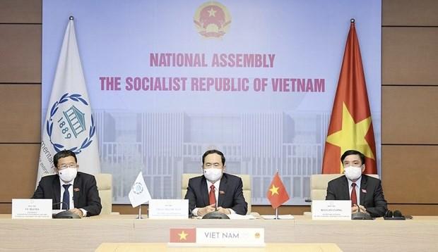 越南出席各国议会联盟第142届大会 hinh anh 1
