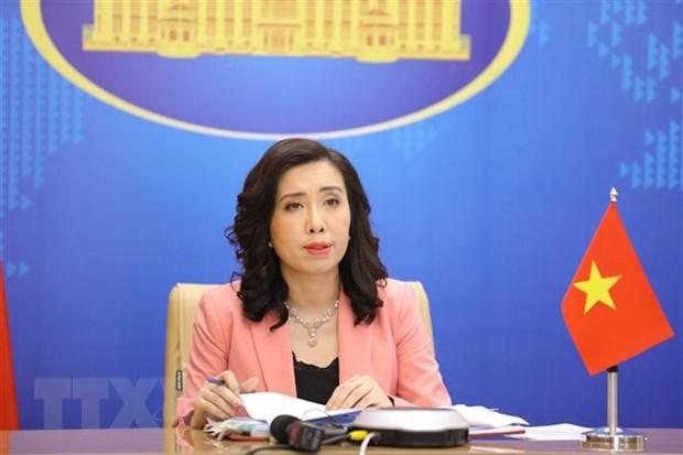 越南外交部发言人:越南努力保障劳动者的权益 hinh anh 1