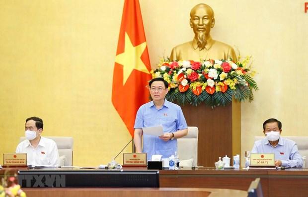 越南国会常务委员会第56次会议闭幕 hinh anh 1