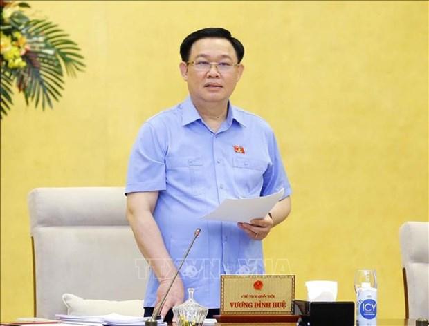 越南国会常务委员会第56次会议闭幕 hinh anh 2