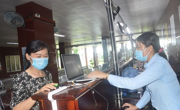 医院通过指纹管理仪 从严抓好疫情防控工作 hinh anh 1