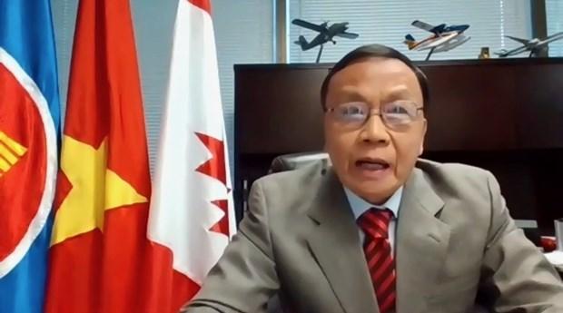 加拿大官员高度评价越南经济的活跃发展 hinh anh 1
