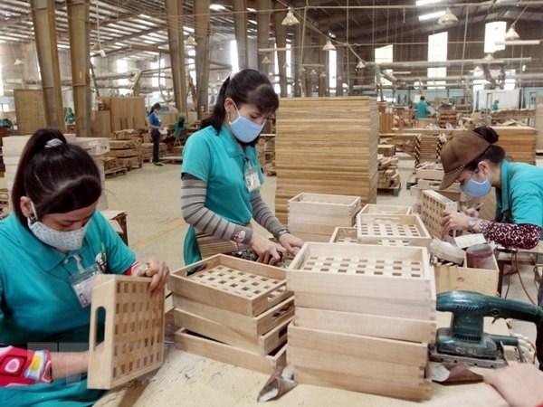 2021年前4个月越南木材和木制品出口额同比增长50.5% hinh anh 1
