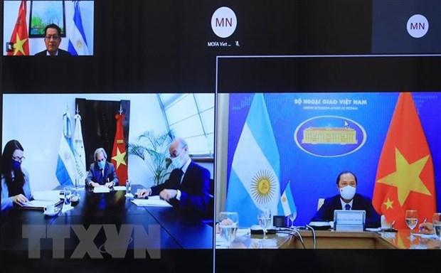 越南与阿根廷举行第八次政治磋商 hinh anh 1