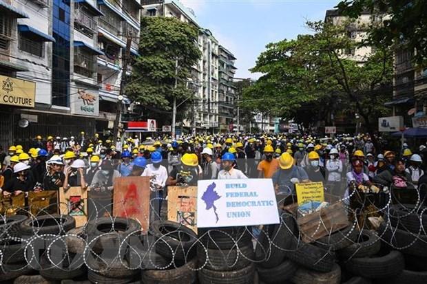印尼呼吁东盟立即任命缅甸事务特使 hinh anh 1