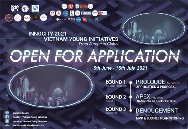 第一次欧洲越南青年倡议大赛正式启动 hinh anh 1