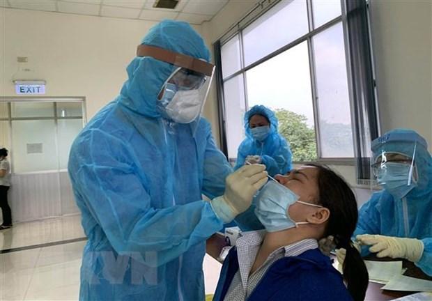 9日晚越南新增57例本地新冠肺炎确诊病例 hinh anh 1
