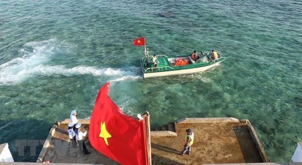 外交部例行记者会:越南坚决反对侵犯越南对长沙群岛主权的一切行为 hinh anh 1