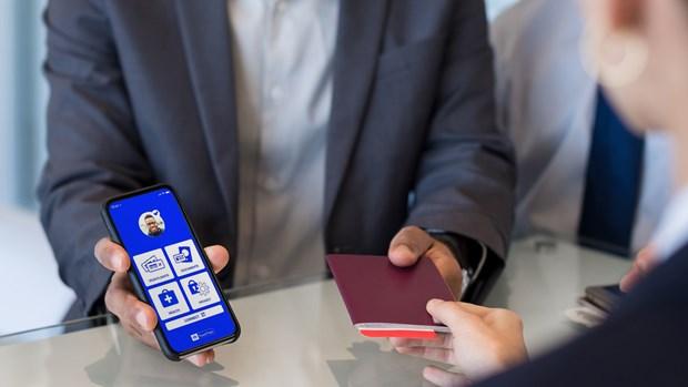 越捷航空在国际客运活动中试用国际航协旅行通行证应用程序 hinh anh 2
