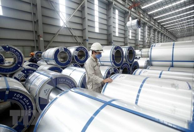 和发集团钢管和镀锌钢对外出口量逾2万吨 hinh anh 1