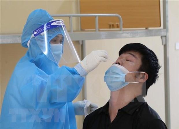 11日下午越南新增63例本土病例和96例治愈出院病例 hinh anh 1