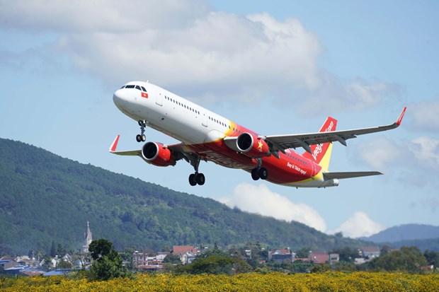 越捷航空在国际客运活动中试用国际航协旅行通行证应用程序 hinh anh 3