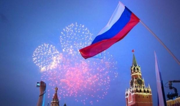 越南领导人向俄罗斯领导人致国庆贺电 hinh anh 1