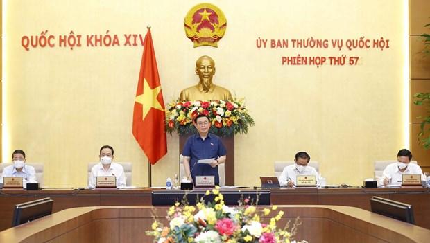越南国会常务委员会第57次会议开幕 hinh anh 1