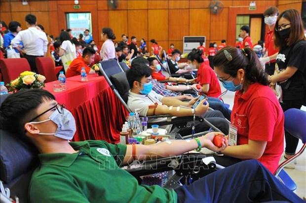 6·14世界献血者日:献血,让心继续跳动 hinh anh 1
