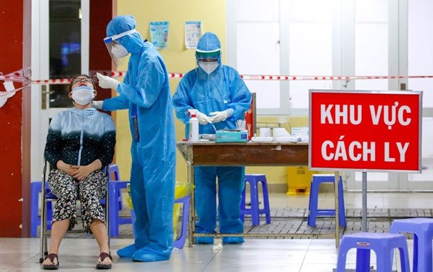 越南卫生部引导试点实施对第一代密切接触者进行居家隔离观察措施 hinh anh 1