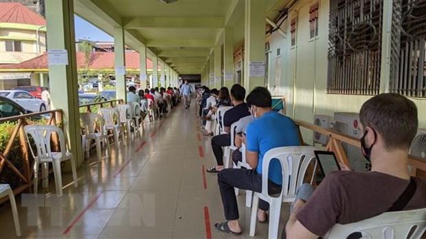 柬埔寨和菲律宾新冠肺炎疫情形势依然严峻 新增病例不断增加 hinh anh 1