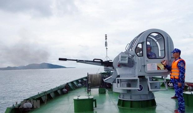 《越南海警法》——海警部队在海上执法的利器 hinh anh 1