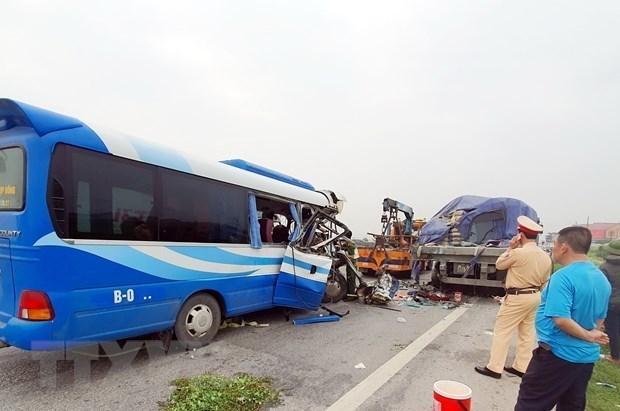 2021年上半年越南发生交通事故6340起 死亡人数为3192人 hinh anh 1