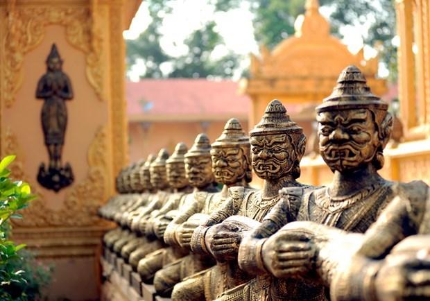 越南南部地区高棉族丰富多样的文化旅游产品 hinh anh 6
