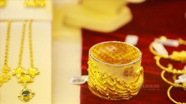 7月5日上午越南国内黄金价格略增3万越盾 hinh anh 1