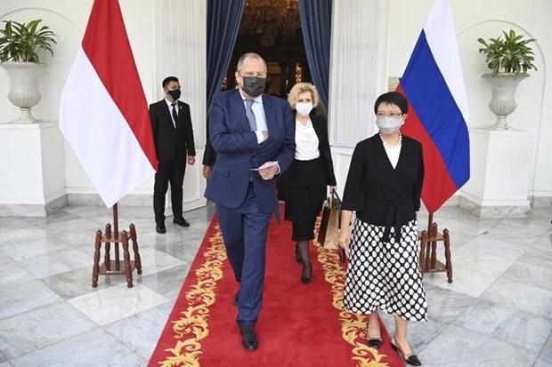 俄外长:俄罗斯优先发展与东盟的关系 hinh anh 1
