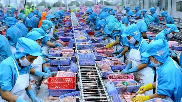 越南出口增速明显回升 hinh anh 1