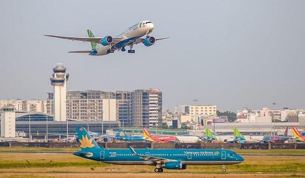 胡志明市-富国往返航班自7月8日零时起暂停运营 hinh anh 1
