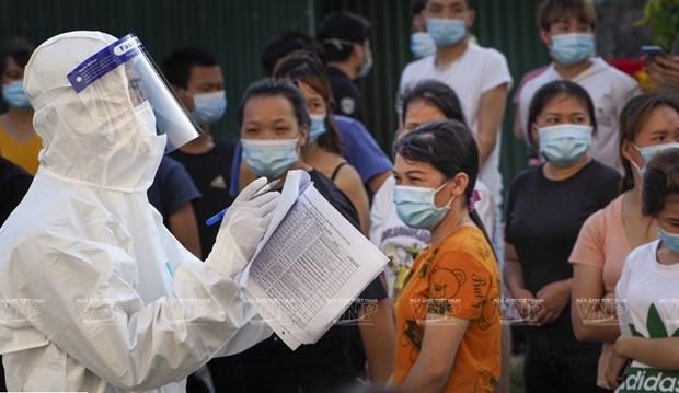 新冠肺炎疫情:胡志明市为住院治疗人数升至1.5万的情景制定应急预案 hinh anh 1