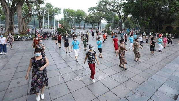 自7月8日18时起河内市暂停所有户外体育锻炼活动 hinh anh 1