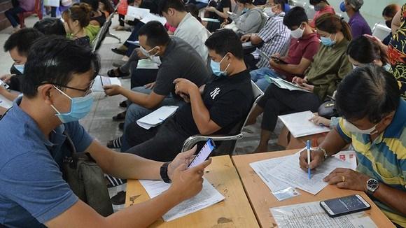 2021年上半年越南全国失业人员超过110万人 hinh anh 1