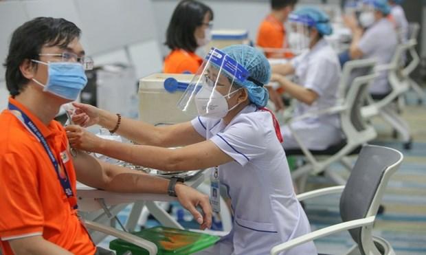 越南在全国范围内开展有史以来规模最大的接种计划 hinh anh 2