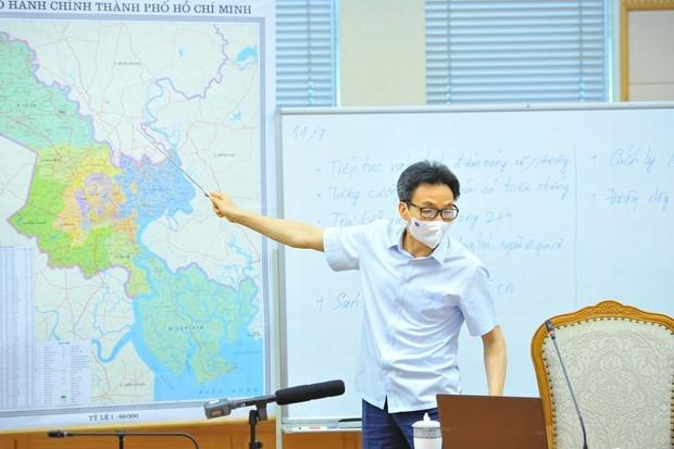 胡志明市新冠肺炎疫情防控工作正走在正确的方向 hinh anh 2