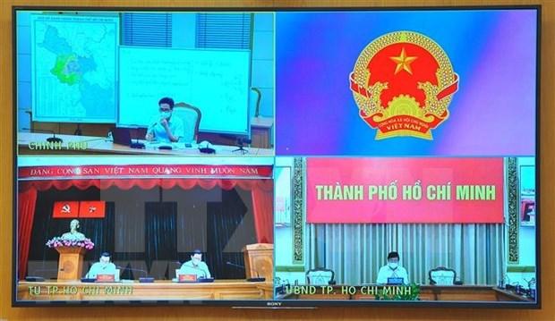 胡志明市新冠肺炎疫情防控工作正走在正确的方向 hinh anh 1